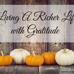 Living a Richer Life with Gratitude