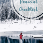 Managing Your Year End Financial Checklist