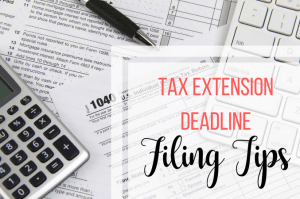 tax extension deadline