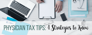 physician tax tips