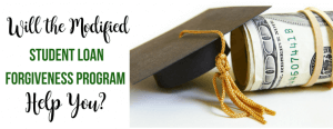 Modified student loan program