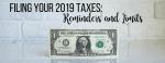 2019 taxes