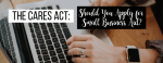 CARES act for small businesses