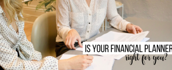 meeting with a financial planner